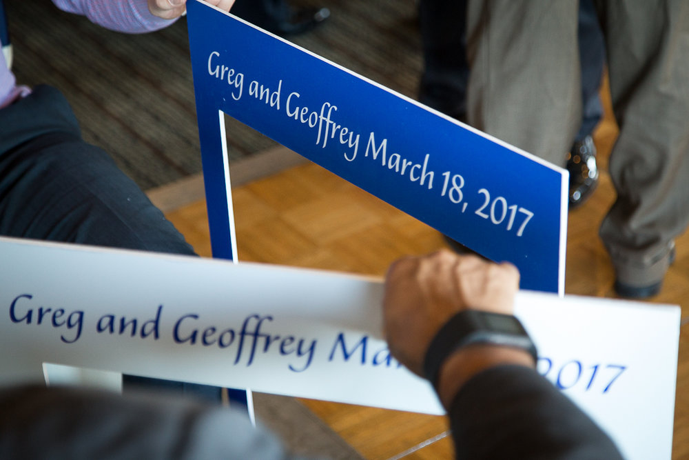 Greg and Geoffrey PART 1, March 18, 2017.  Click Here to see photos, or click on above image.