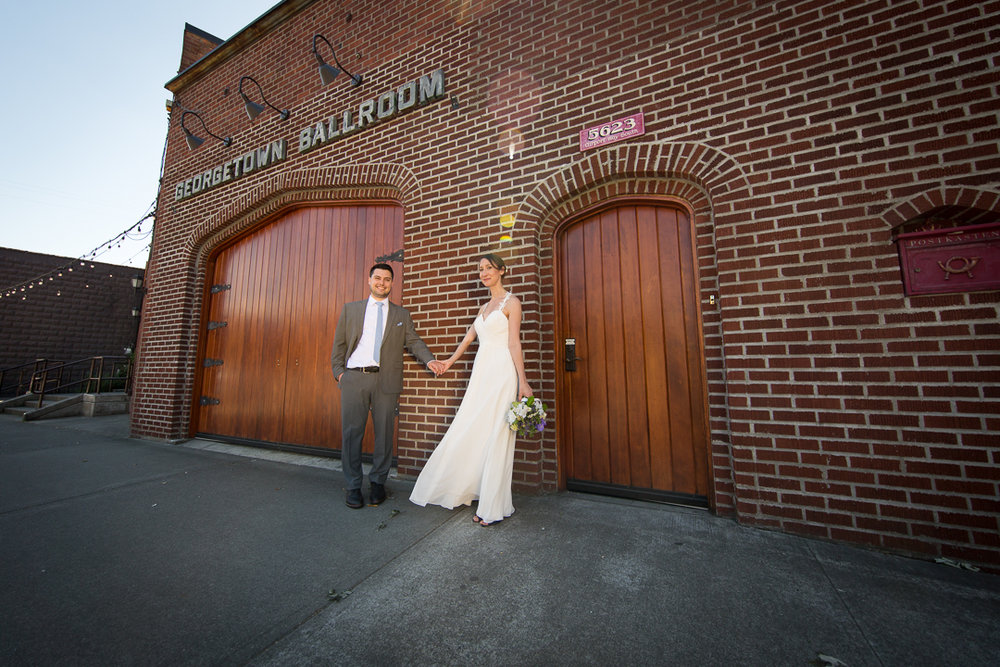 Click through to see the formals from the wedding of Ari and Micah on June 16, 2018 at the Georgetown Ballroom