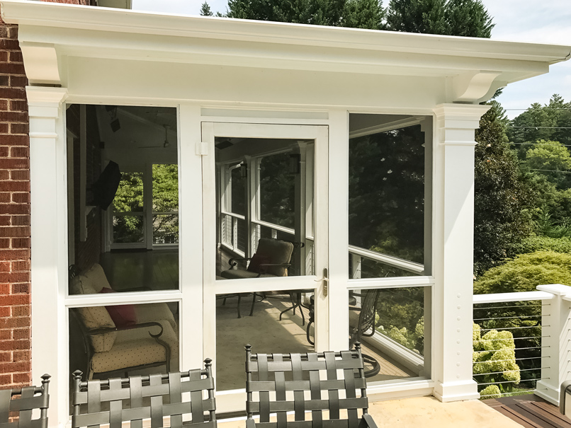 North Asheville Screened Porch Addition