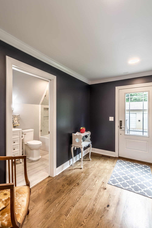 Home Foyer & Guest Bathroom