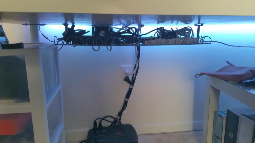 Desk Cable Management Guide - With Ikea Signum — Srgnt Ballistic