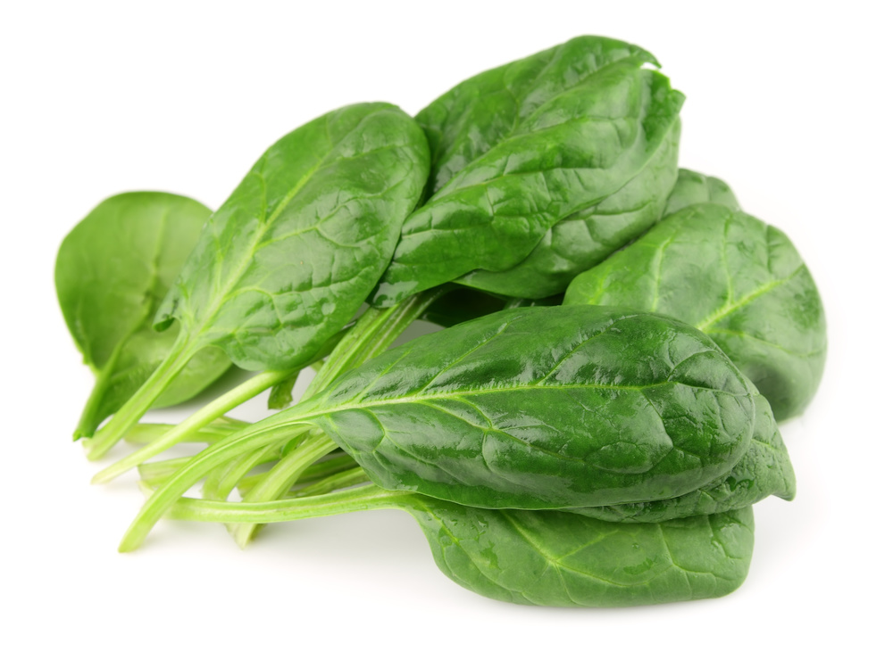 Did you know there are three grams of protein per 1/2 cup of spinach?