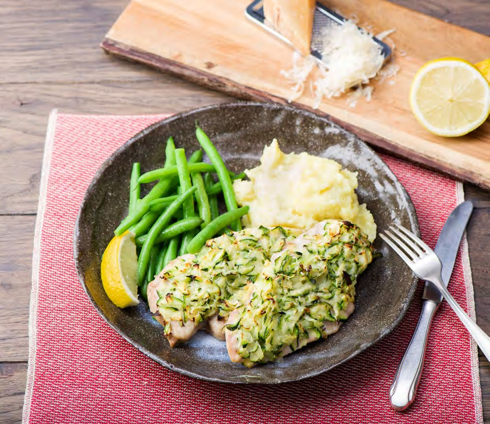 I love chicken, however I find it can be easy to get stuck in rut and make it the same way every time. I thought this recipe from Hello Fresh was great because it puts a fun and healthy twist on chicken with a yummy zucchini- parmesan crust. It is full of protein, healthy fats, and veggies. Easy to pair this with a salad, your favorite side of vegetables, mashed potatoes or cauliflower rice.... id I mention I also love options...now you've got them! Give this a try and watch your love ones gobble it up!
