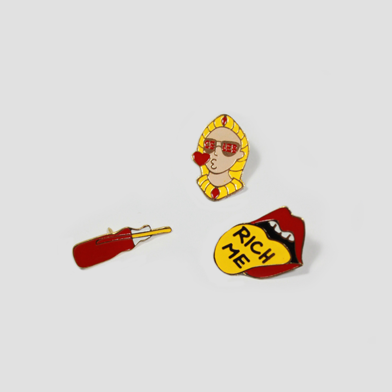 Lucky Enamel Pin  | Set 01