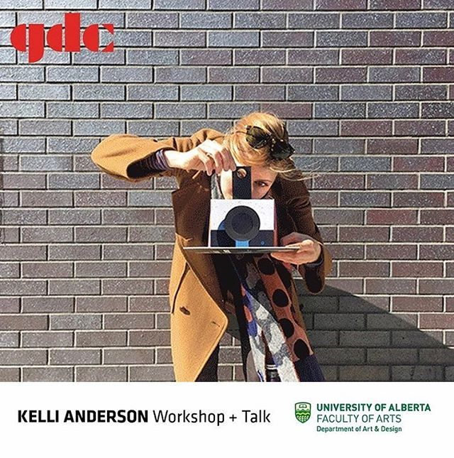 ‼️Giveaway alert‼️ We're humbled to be giving away 1 ticket to the workshop with Kelli Anderson on Wednesday March 20th.  To enter, be following @gdcabnorth and @hellosda and let us know in the comments here why you want to go!  One winner will be drawn and contacted on Thursday March 14th. Best of luck! 🎉  #yeg #yegdesign #design #ualberta #ualbertaarts