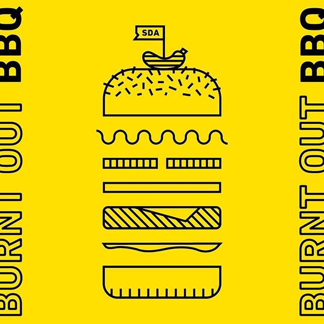Burnt-out? Tired? Portfolio season blues?  Come kick back with us tomorrow from 5:00-8:00 at the Industrial Design courtyard to grab a burger and catch up with friends. 🍔 Let's end the semester with this big bash! 🎉