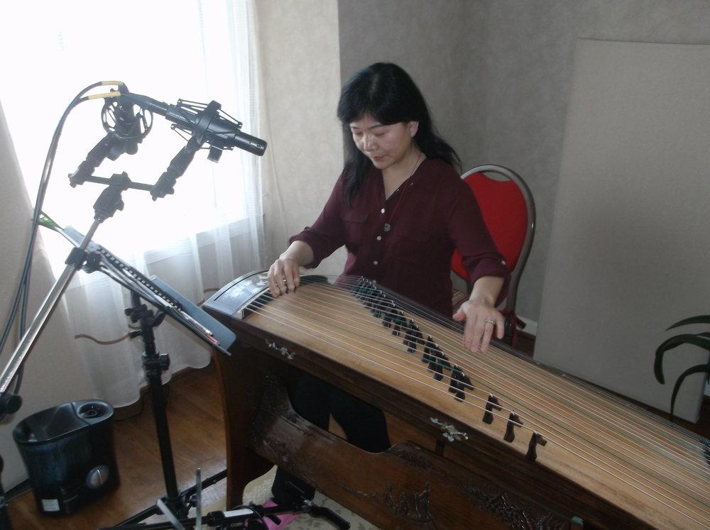 Bing Xia, Guzheng