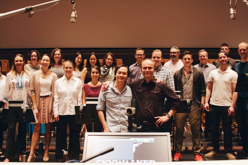 Cappella SF at Skywalker Sound