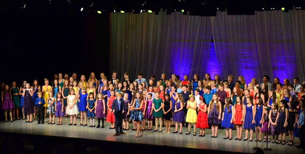 "Creator of  Lyrics for Life , a benefit concert for the American Foundation for Suicide Prevention. Pictured is the cast of 120+ performers from the 2016  Lyrics for Life  in NYC, hosted by Mackenzie Ziegler (""Dance Moms"") and Casey Simpson (Nickelodeon's ""Nicky, Ricky, Dicky and Dawn"")."