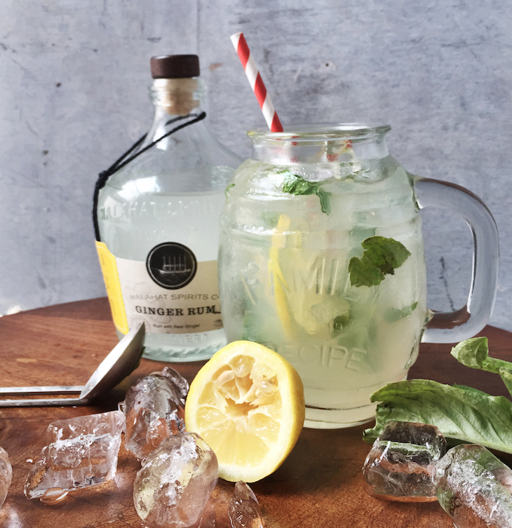 Ginger Basil Lemonade