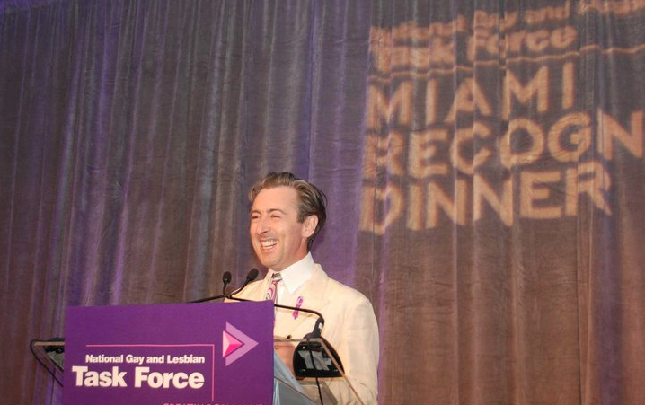 TASK FORCE LEADERSHIP AWARD   I headed down to Miami to recieve the Task Force Leadership Award.  The National Gay and Lesbian Task Force recognizes the leadership and contributions of individuals who have made significant contributions to the progressive movement in general and the fight for equality for LGBT people specifically