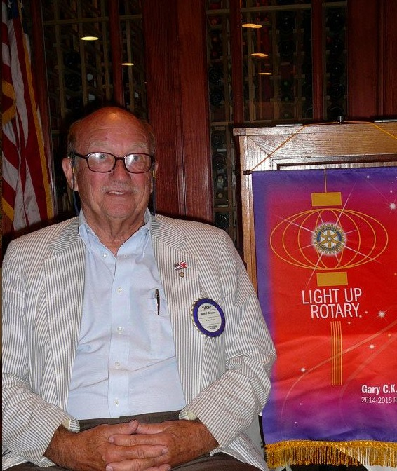 Jack Royston Member of Camden-Wyoming Rotary Club Since 1979