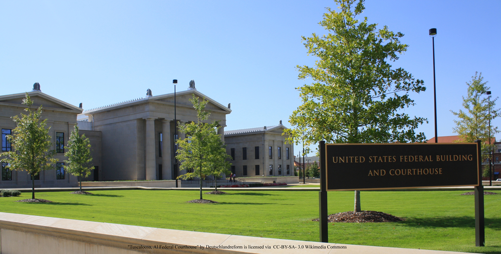 Tuscaloosa, Alabama United States Courthouse
