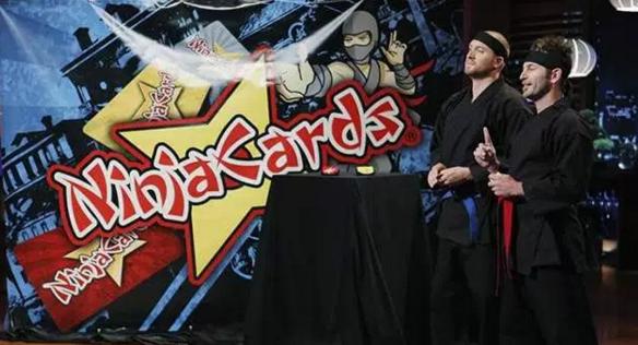 Ninja Cards Toy Box Shark Tank
