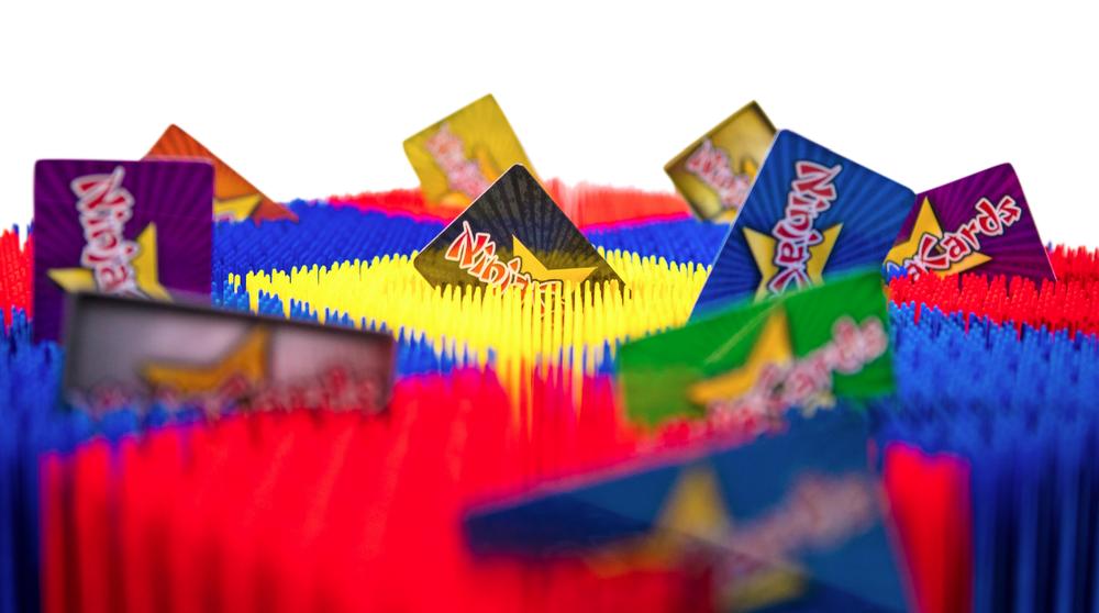 Ninja Cards Toy Box
