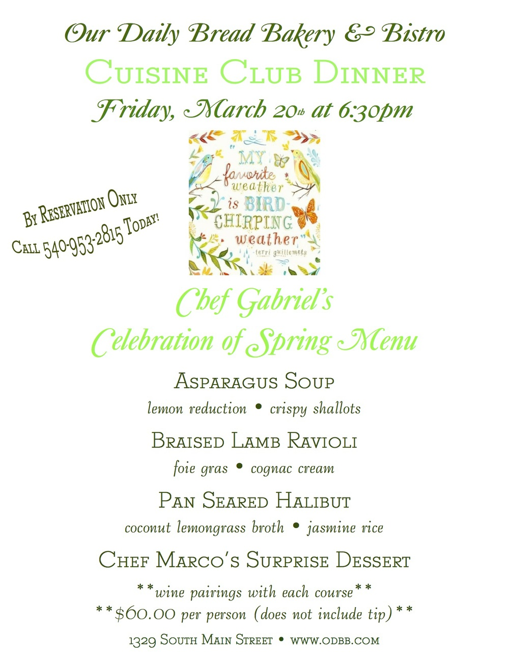 cuisineclubmarchdinnerspring