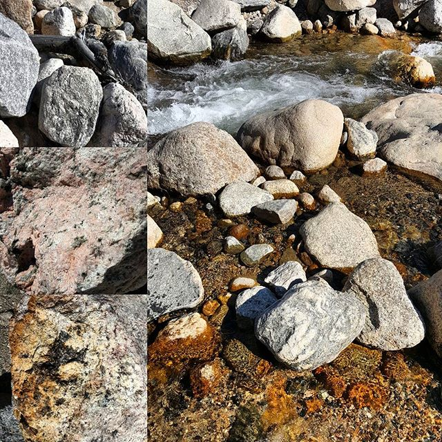 Alluvial fan boulders.  #rocks #boulders #granite #nature #hike #river #details #rmnp #outside #climbeveryone