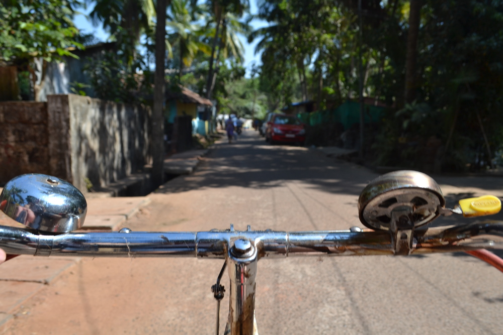 Joe & Johns - Educate & Liberate #Ourjourney  #Pocketbags. Goa village bike ride.jpg