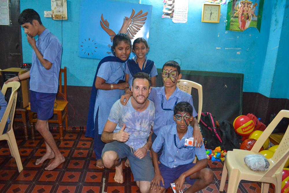 Joe & Johns - Educate & Liberate #Ourjourney  #Pocketbags. Joe volunteering in India.jpg
