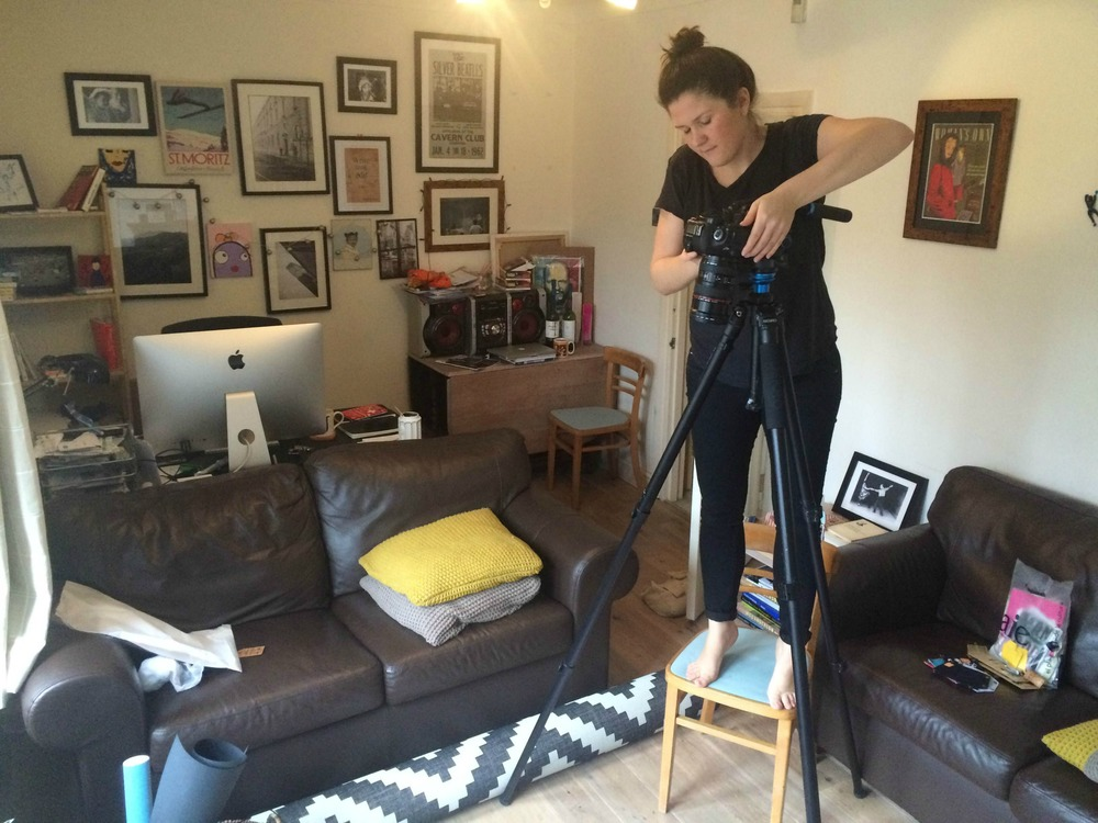 Behind the scenes creating our new Instagram video