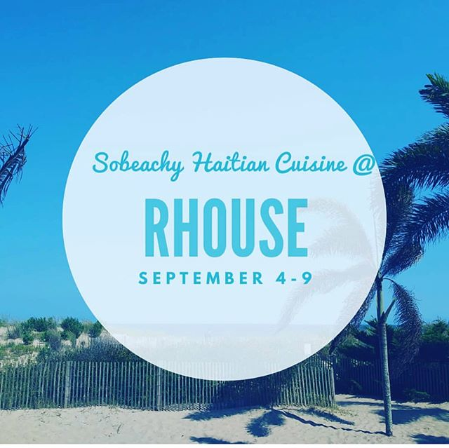 I hate this week's pop up at @rhousebaltimore because they won't be a permanent fixture. But you know how the saying goes— it's better to have had Haitian food than never to have had Haitian food at all. If you've never had Haitian food before, run to @sobeachyhc (where's the pikliz? 😝)
