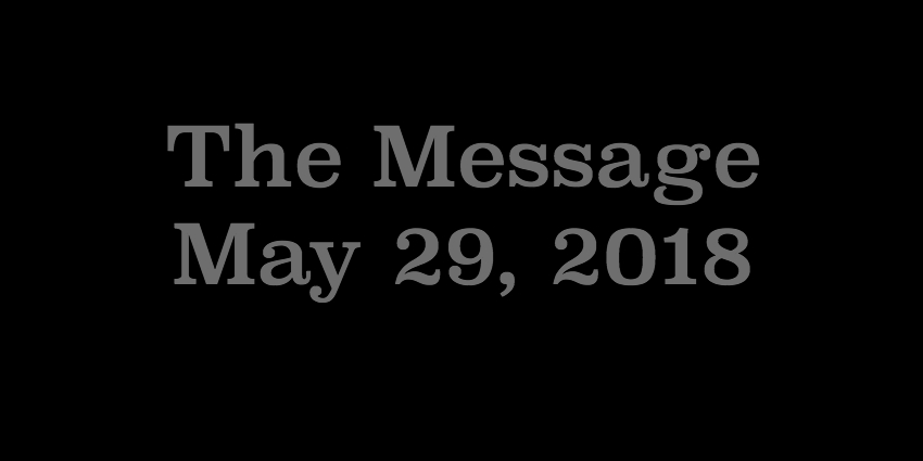 May 29 - The Message.jpg