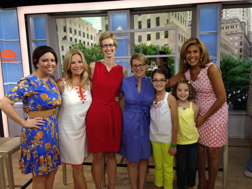Books and a Blanket was on the Today Show with Kathie Lee and Hoda!