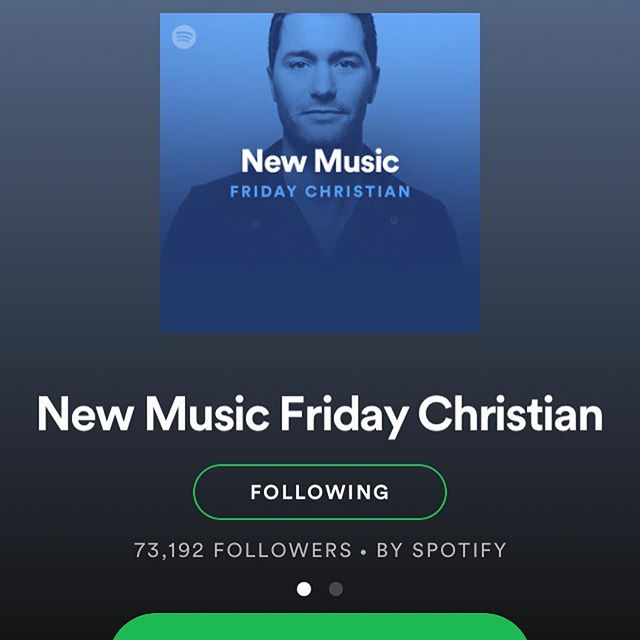 Big news! Huge thanks to @spotify for adding my song 'The Accomplice' to their New Music Friday Christian playlist. Honoured to be on this playlist, particularly through Christmas week. It's my first time on an official Spotify playlist and it's a big deal for me personally to get this kind of recognition for my work. 🙏📀🎚