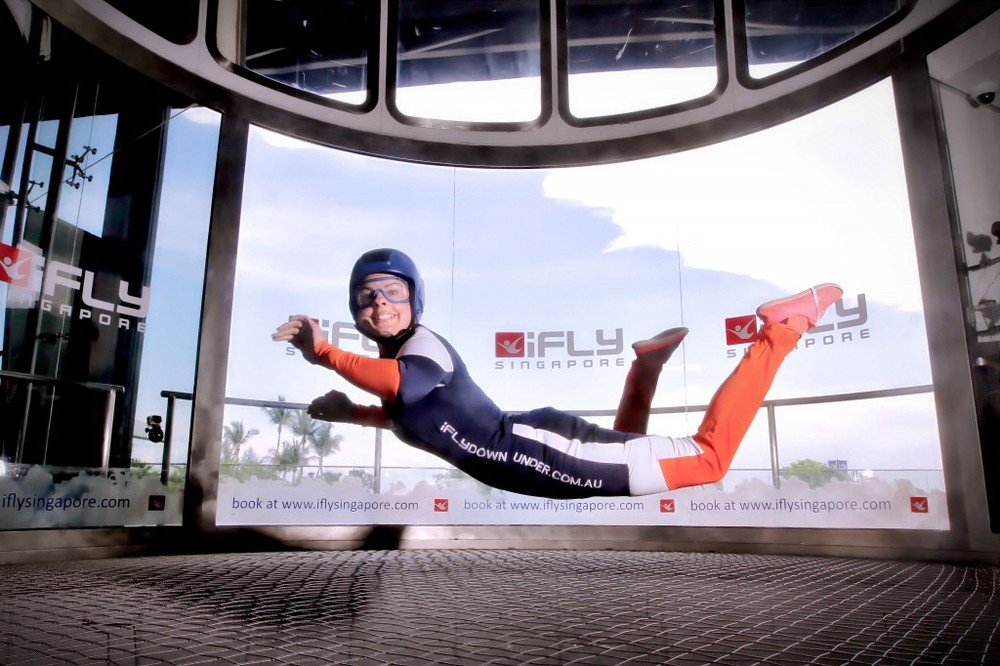 Holly KilhamiFLY Downunder Operations Manager - Photo Courtesy of the iFLY Blog