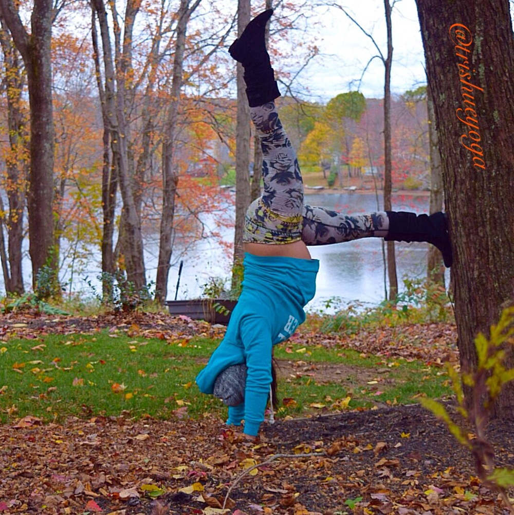 Supported Handstand