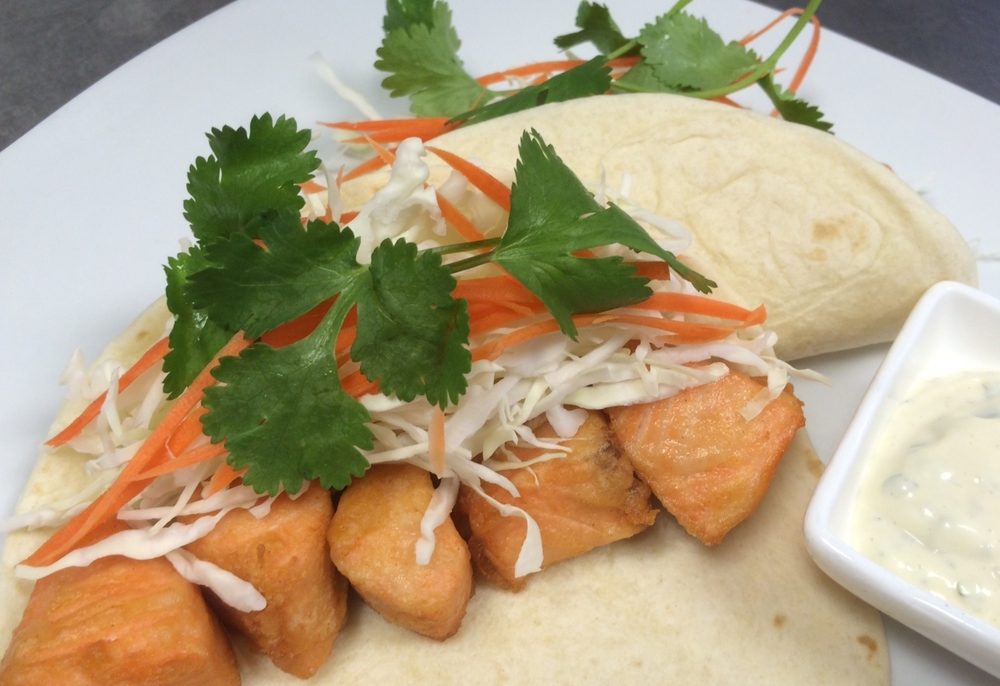 Salmon Karaage Taco.JPG
