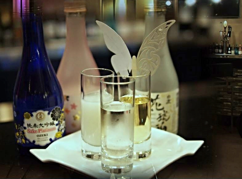 Sakura Sake Flight.JPG