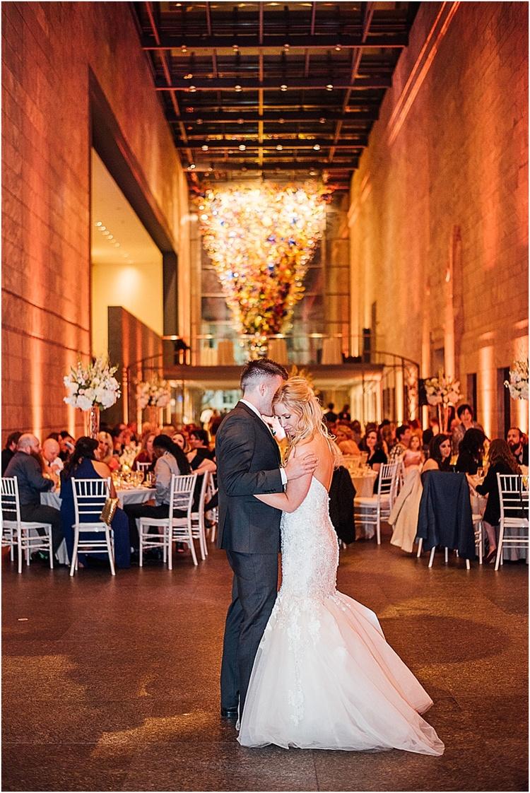 Classic Joslyn Art Museum Wedding Jessica Sean Scarlett Crews
