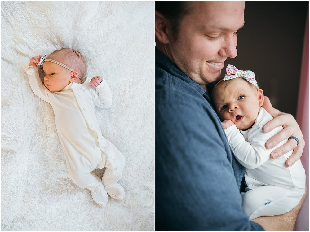 St. Louis Newborn Lifestyle Photography