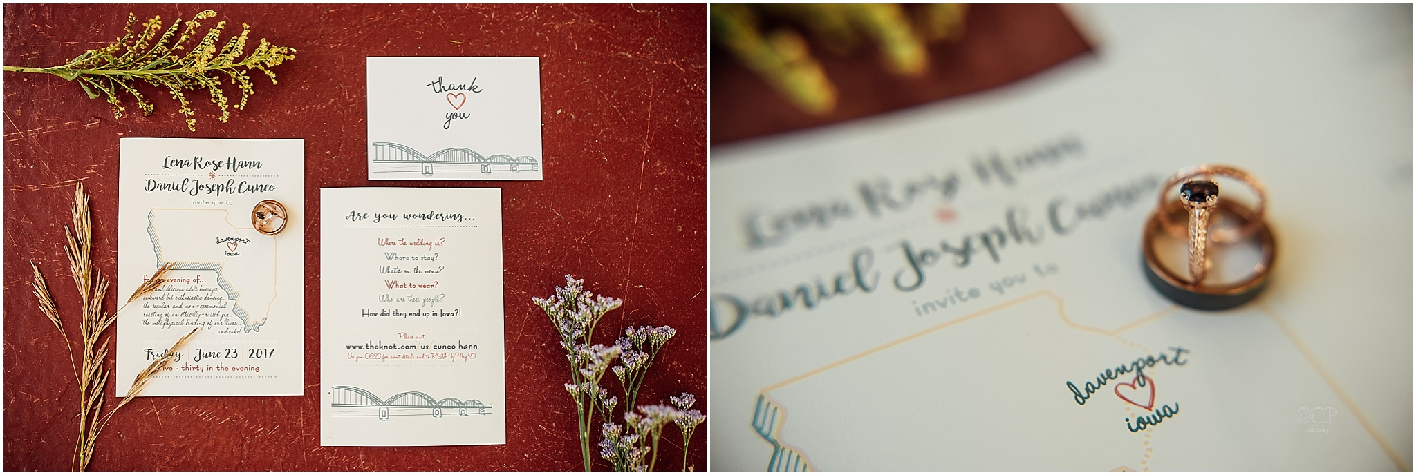 Credit Island Wedding | Lena & Dan — Scarlett Crews Photography