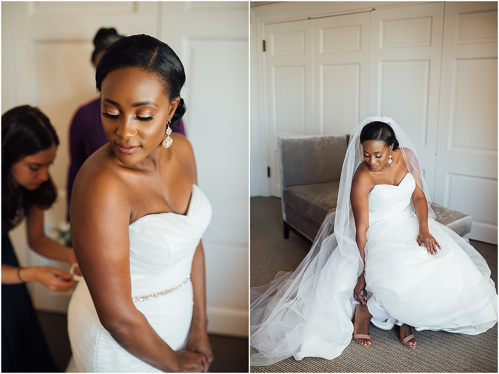 Meg is a natural beauty, but she looked absolutely flawless on her wedding day!