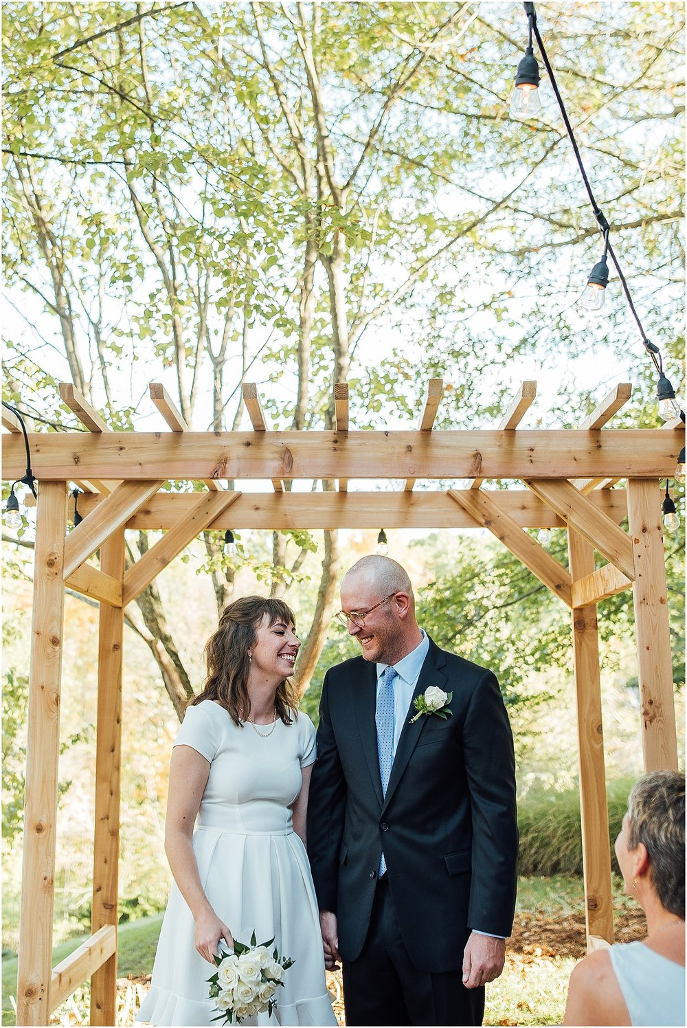 St. Louis Wedding Photographer, backyard wedding