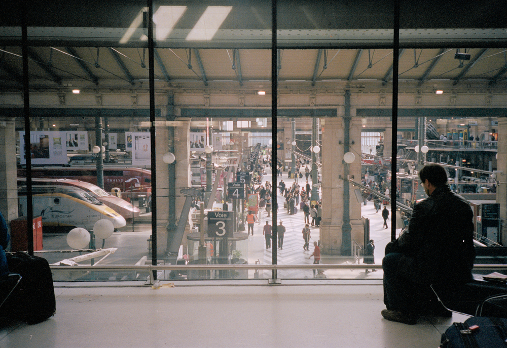 Waiting for a Train, Gare du Nord (2014)