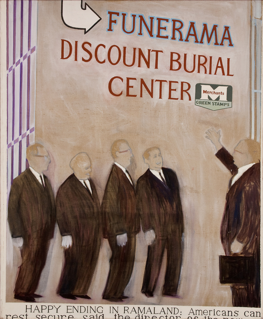 Funerama Discount Burial Center (Flashback)