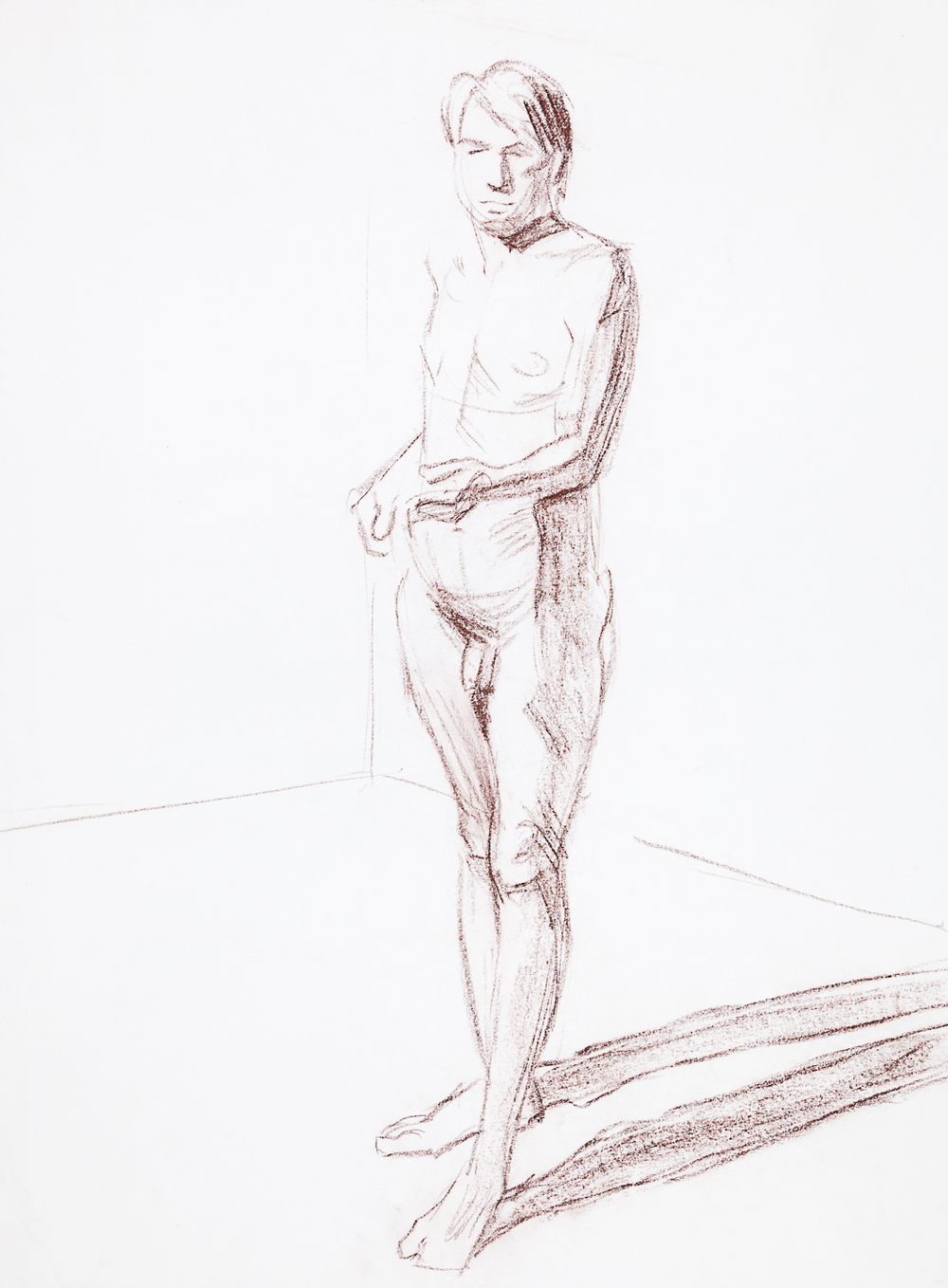 15  Standing Male Nude
