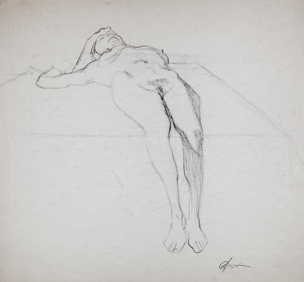 16  Reclining Female Nude