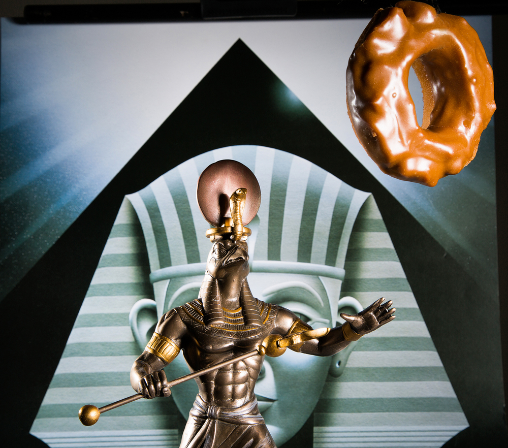 King Ra and Salted Caramel Donut.