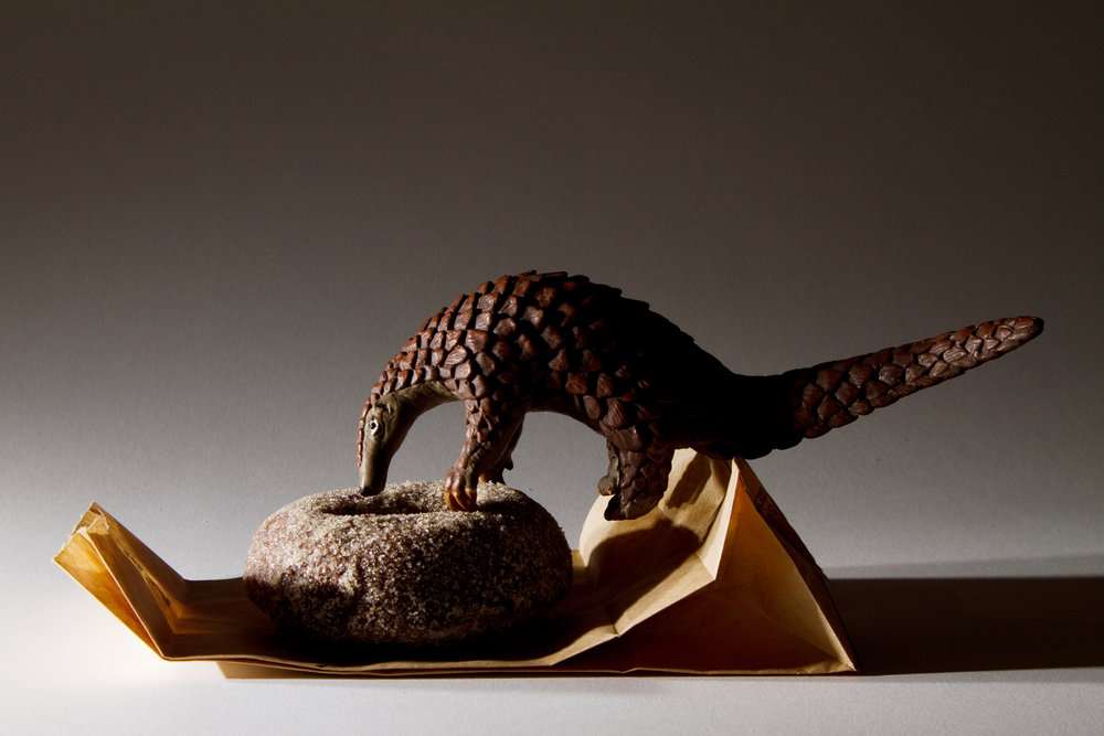 Pangolin Paper Bag