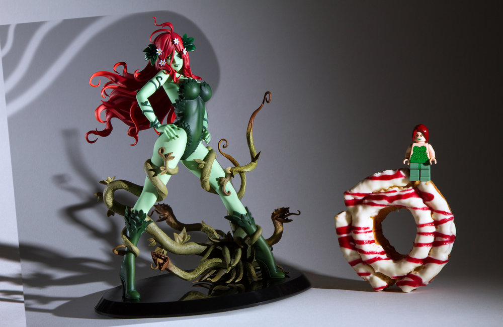 Poison Ivy and Lego Poison Ivy