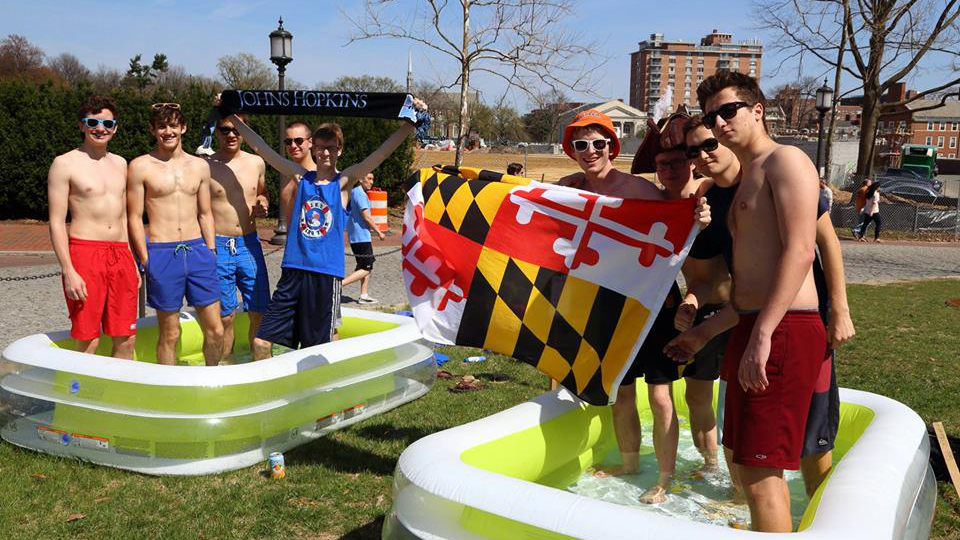 The Johns Hopkins and University of Maryland Wading Game
