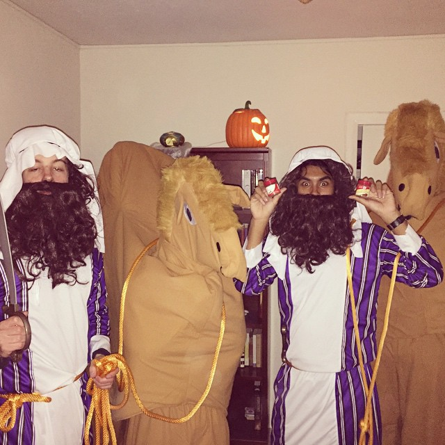 When you work on the Silk Road, every day is Hump Day.  #halloween #spicetrade #camelsandmerchants #spicesfordays #werenotracist