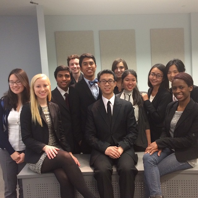 Couldn't be any prouder of these kids. #mocktrial #whatschappening #spamta