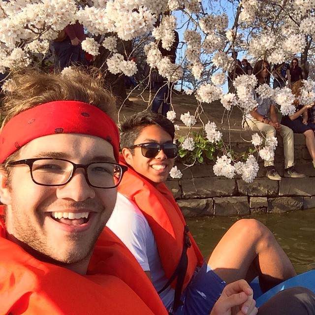 If we've done it for two years, does it count as a tradition? #cherryblossomfestival #washingtondc