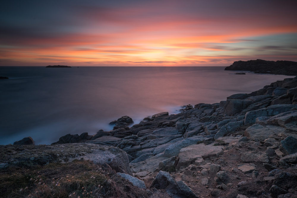 Bryher sunset, August 2014