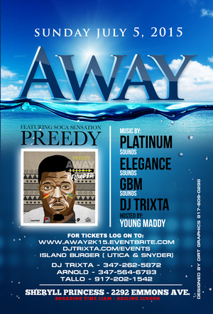 Away Boat Ride Promo
